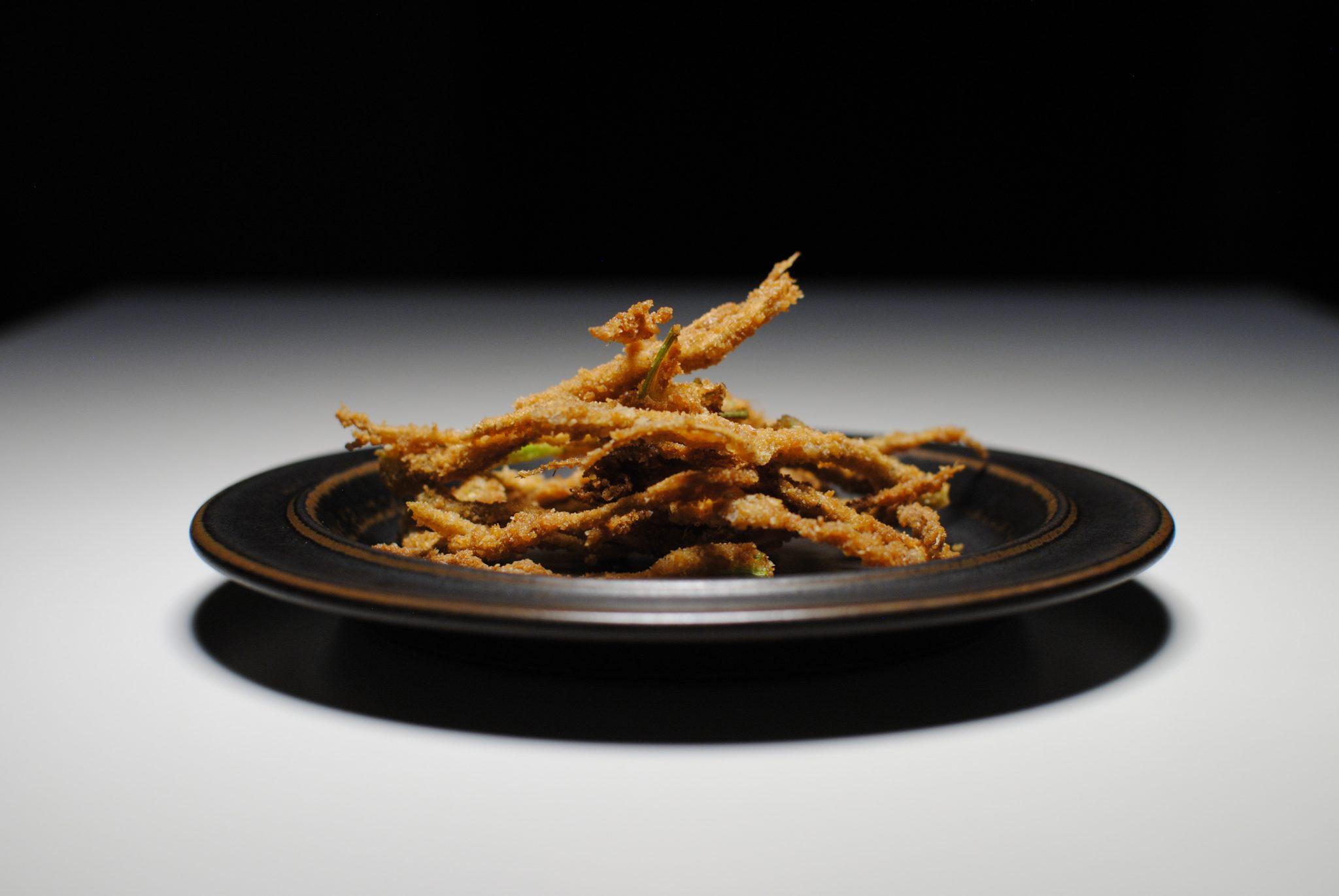 friterad korianderrot